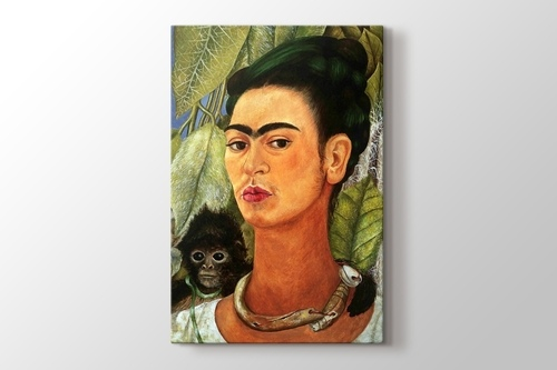 Picture of Self Portrait with Monkey 1938