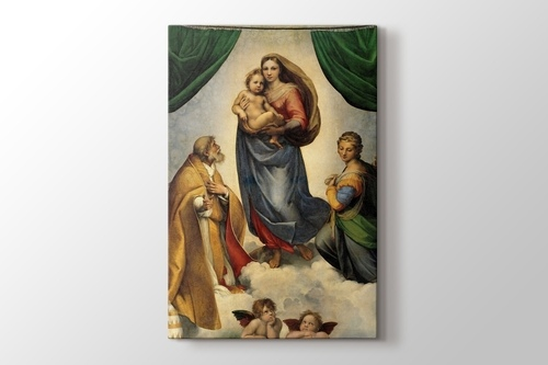 Picture of The Sistine Madonna
