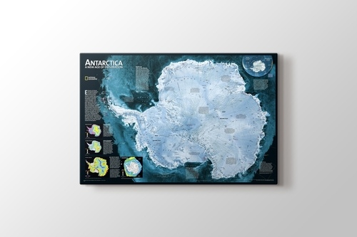 Picture of Antarctica Map