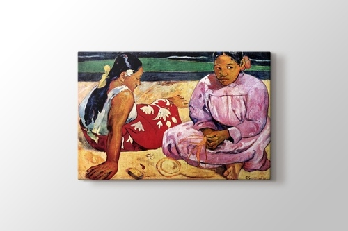 Picture of Tahitian Women on the Beach