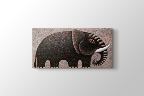 Picture of Oil Paint Elephant