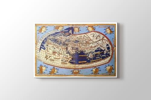 Picture of Claudius Ptolemy The World Map 1482