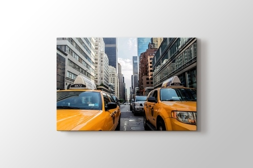 Picture of Yellow Taxi Cabs