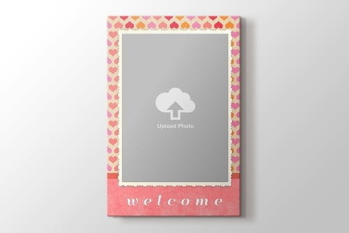 Picture of Welcome Gift for Baby Girl Canvas Print