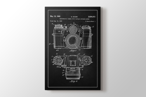 Picture of Photographic Camera With Coupled Exposure Meter Patent