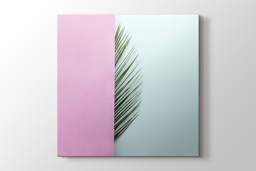 Picture of Palm Leaf Half Pink