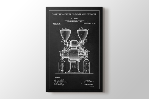 Picture of Coffee Grinder Patent