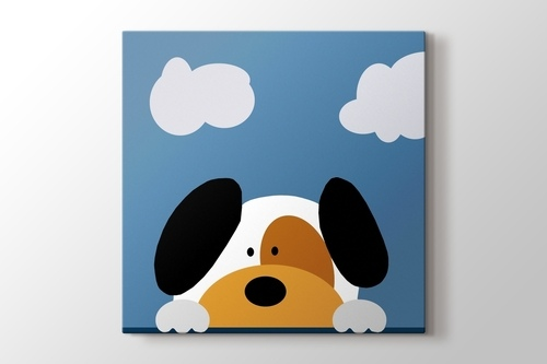 Picture of Doggy and the Clouds