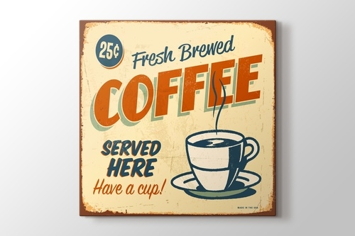 Picture of Vintage Coffee Poster