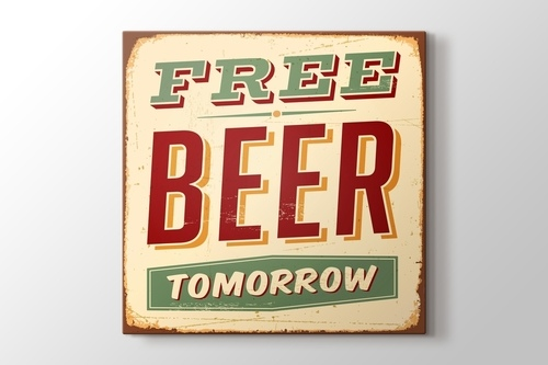 Picture of Free Beer Tomorrow
