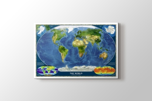 Picture of World Satellite Map