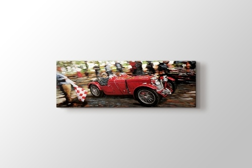 Picture of Red Race Car