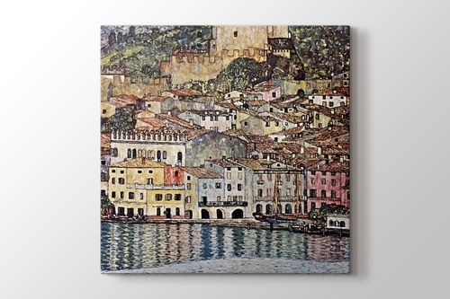 Picture of Malcesine on the Garden Lake