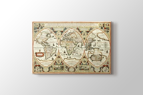 Picture of Vintage World Map