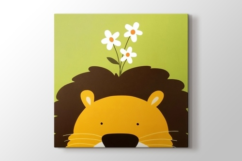 Picture of Lion and the Daisy