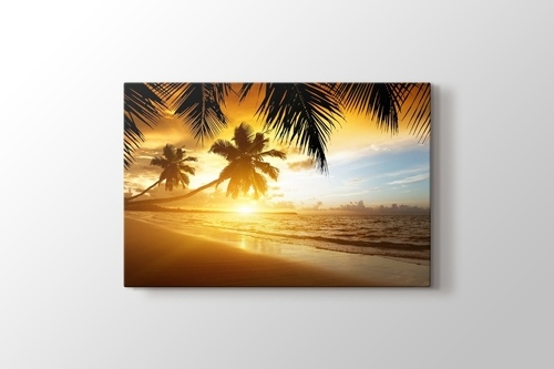 Picture of Sunset and Palms
