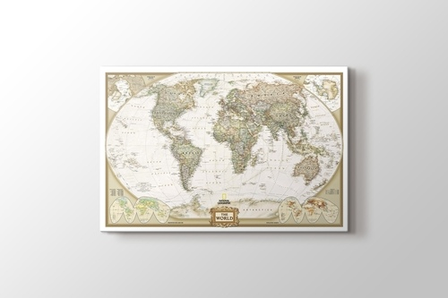 Picture of Political World Map