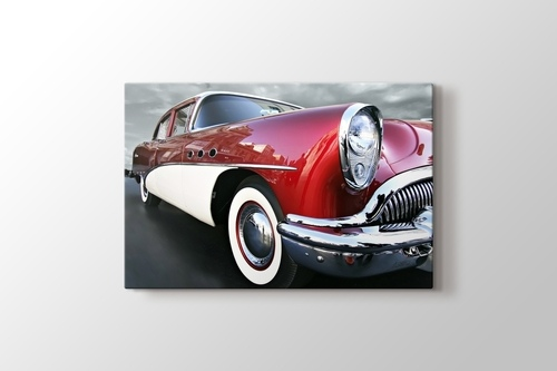 Picture of Classical Red Car