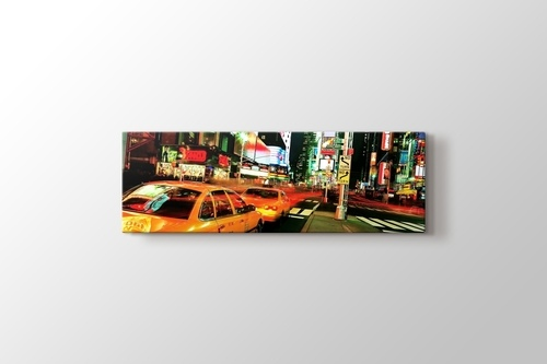 Picture of Yellow Cabs at Times Square