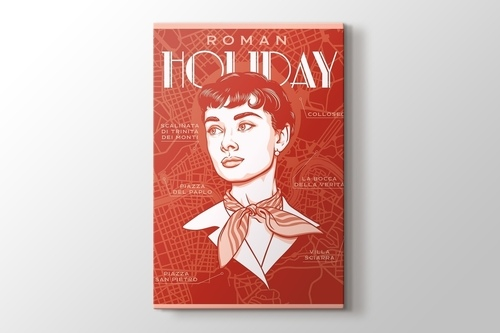 Picture of Roman Holiday - Audrey