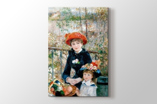 Picture of Two Sisters On the Terrace