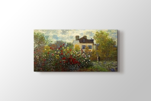 Picture of The Artist's Garden in Argenteuil