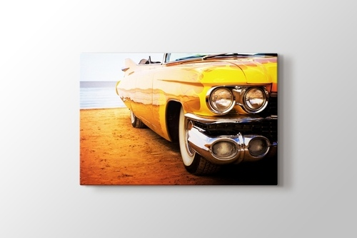 Picture of Yellow Cadillac
