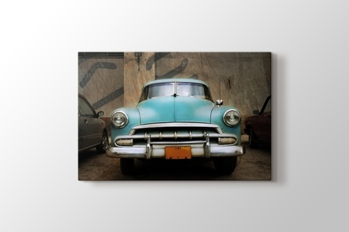 Picture of Classical Blue Car