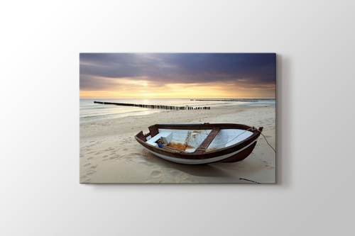 Picture of Seashore and Boat