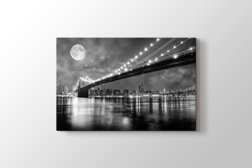 Picture of Brooklyn Bridge at Night