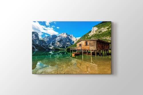 Picture of Lago di Braies - Dolomiti Mountains - Italy