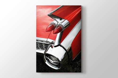 Picture of Red Cadillac