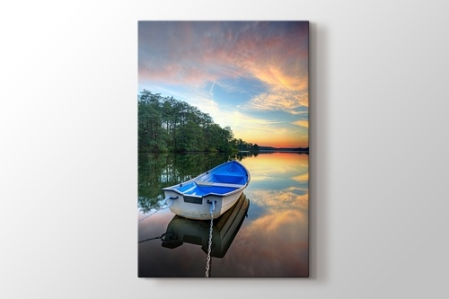 Picture of Sunset and Boat