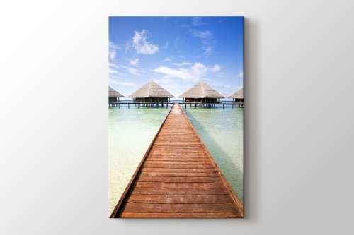 Picture of Maldives - Tropical Beach