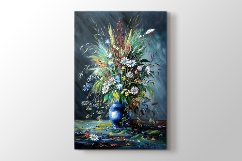 Picture of Beautiful Flowers in a Vase