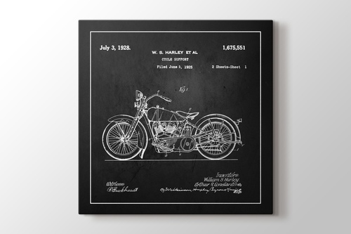Picture of Harley Patent