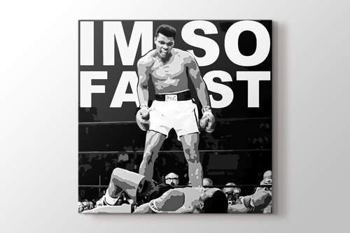 Picture of Muhammad Ali - I Am So Fast