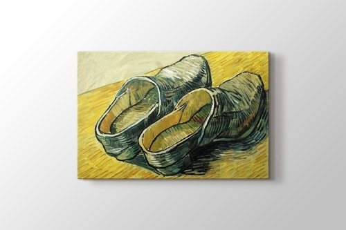 Picture of A Pair of Leather Clogs
