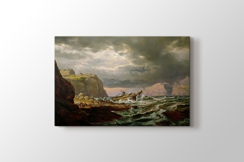 Picture of Shipwreck on the Coast of Norway