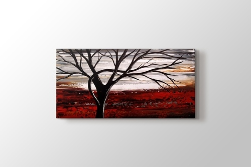 Picture of Tree on a Red Land