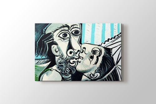 Picture of Pablo Picasso - The Kiss