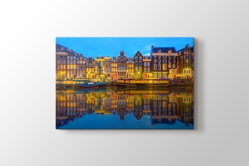 Picture of Night View by Canal