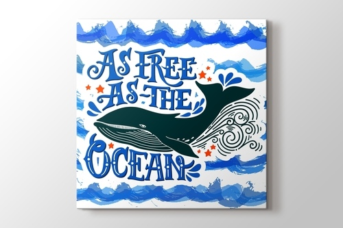 Picture of As Free As The Ocean