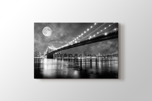 Picture of Brooklyn Bridge at Night