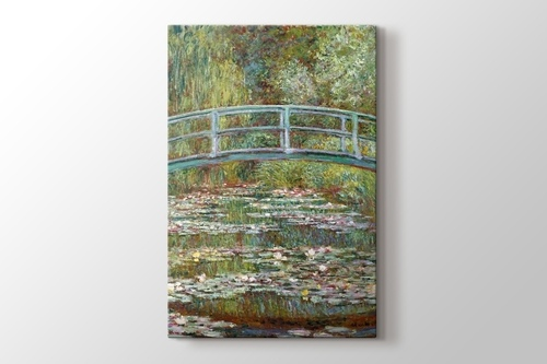 Picture of Water Lily Pond and Bridge