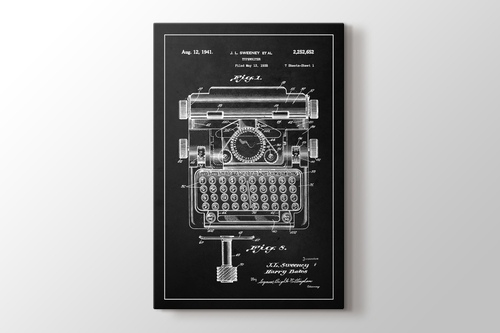 Picture of Typewriter Sweeney Patent
