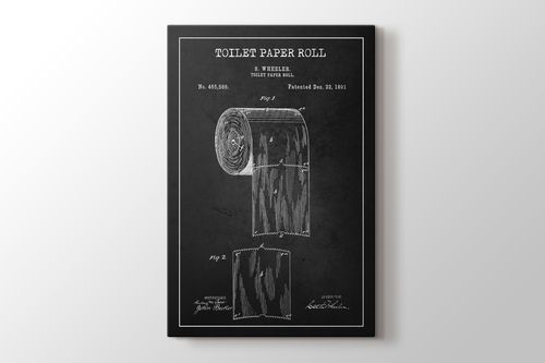 Picture of Toilet Paper Roll Patent