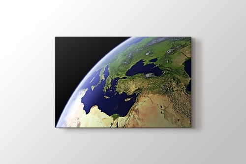 Picture of Turkey From Space