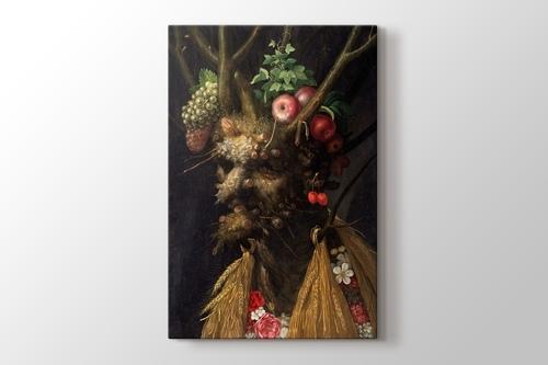 Picture of Giuseppe Arcimboldo - Four Seasons in One Head