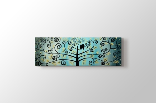 Picture of Doves on Tree